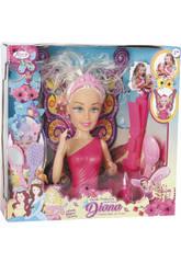 Buste Avec Mains Assortiment Diana Princesse des Fées 27 X 12 cm