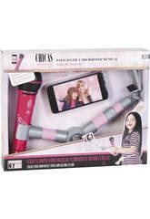 NY Fashion Toys Bastone Selfie con Microfono musicale 21 cm