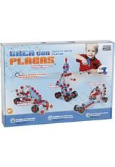 Juego de Construcción Crea Robots Con Placas 7 Figuras en 1