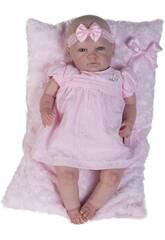 Bambola Reborn Baby con Vestito Rosa Berbesa 5300