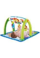 Baby Toy Blanket Gym Musical Aktivitäten Dschungel 5 in 1 mit Projektor 0-4 Jahre