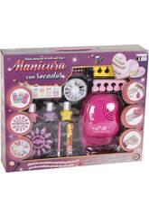Studio di Manicure con Phon e accessori