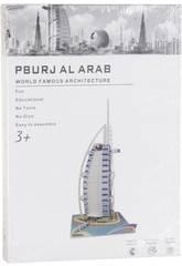 Puzzle 3D Burj Al Arab 74 piezas