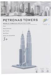 Puzzle 3D Petronas Tower 86 piezas