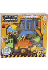 Construisez Vos véhicules de Construction 28 x 17 cm Couleur Vert