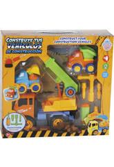Construisez Vos véhicules de Construction 27 x 20 cm Couleur Orange