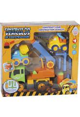 Construisez Vos véhicules de Construction 27 x 20 cm Couleur vert