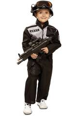 Costume Bebè L SWAT