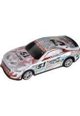 Coche Racing Radio Control The Western Overload Número 51 6x18x8 cm