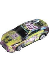 Voiture Racing Radio Contrôle The Western Overload Numéro 30 : Télécommandé 6x18x8 cm
