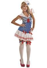 Costume Donna L Marinaretta Blu