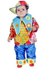 Costume Bebè Pagliaccio L Nines D'Onil D9172