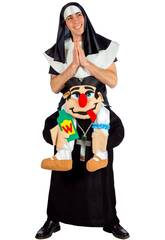 Cura do traje adulto e freira Ninos D'Onil D8951