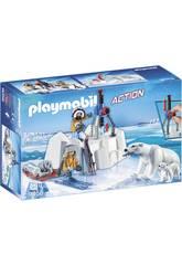 Playmobil Explorateurs avec Ours Polaires 9056