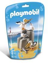 Playmobil Famille de Pélicans 9070