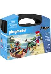 Playmobil Big Pirate and Soldier Maleta 9102