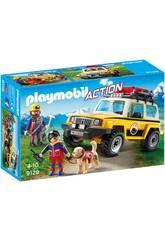 Playmobil Action Jeep soccorso alpino 9128
