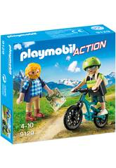 Playmobil Action Ciclista ed escursionista 9129