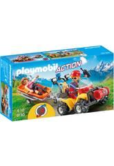 Playmobil Mountain Rescue Quad 9130