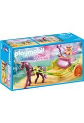 Playmobil Hada Flor Con Carro 9136