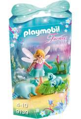 Playmobil Niña Hada con Mapaches 9139