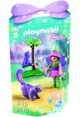 Playmobil Niña Hada con Búho 9140