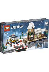 Lego Creator Exclusivas Stazione Ferroviaria Invernale 10259