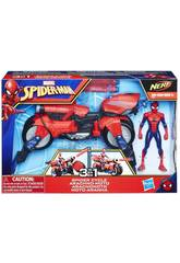 Spiderman Moto 3 in 1 Hasbro E0593