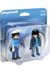 Playmobil City Action Poliziotto e Ladro 9218