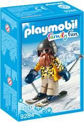 Playmobil Esquiador con Snowblades 9284