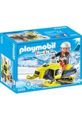 Playmobil Moto De Nieve 9285