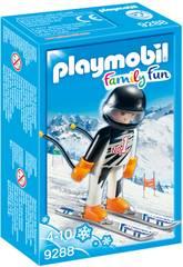 Playmobil FamilyFun Sciatore 9288