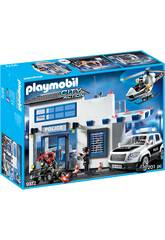 Playmobil City Action Centrale della Polizia 9372