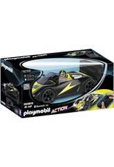 Playmobil Voiture de Course Noire Radiocommandée 9089