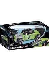 Playmobil Voiture de Course Verte Radiocommandée 9091