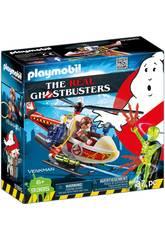 Playmobil Ghostbusters Venkman con Elicottero 9385