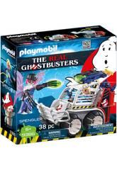 Playmobil Ghostbuster Spengler Mit Auto 9386