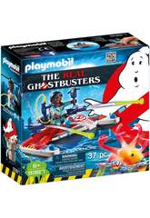Playmobil Ghostbusters Zeddemore avec Scooter des Mers 9387