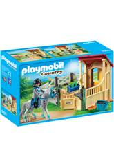 Playmobil Caballo Appaloosa Con Establo 6935