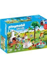 Playmobil Fiesta En El Jardín 9272