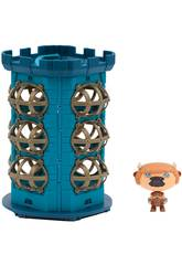 Hero Eggs Monsters Maletin Torre con Figura Exclusiva Giochi Preziosi HEW04000