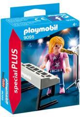 Playmobil Cantante con Órgano 9095