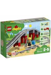 Lego Duplo Pont et Voies Ferrées 10872