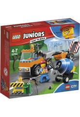 Lego Juniors Camion de Chantier sur Route 10750