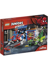 Lego Juniors Spiderman vs Scorpion Bataille de Rue 10754