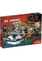 Lego Juniors Persecución en la Lancha Ninja de Zane 10755