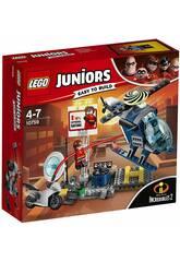 Lego Juniors Inseguimento sul tetto di Elastigirl 10759
