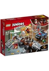 Lego Juniors Los Increíbles 2 Atraco al Banco del Socavador 10760
