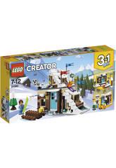 Lego Creator Refugio de Invierno Modular 31080