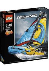 Lego Technic Bateau de Compétition 42074